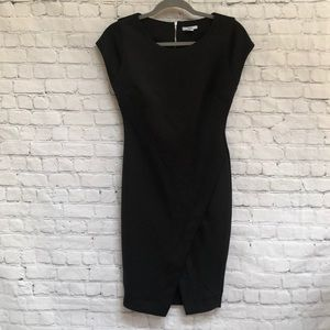 Bar III Black Scuba Body Con Dress
